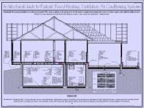 architectural drawings, radiant heating and cooling, building science